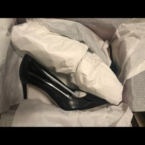 Tamara mellon rebel 75mm patent black heel pump